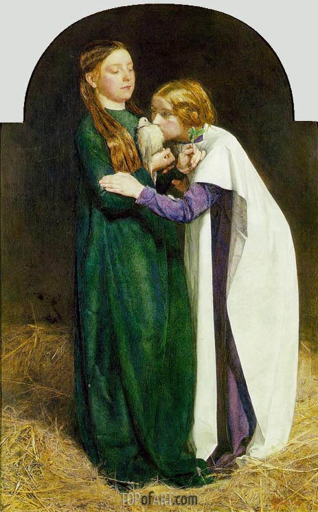 The Return of the Dove to the Ark, 1851 | Millais | Painting Reproduction