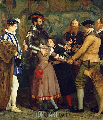 Millais | The Ransom, c.1860/62