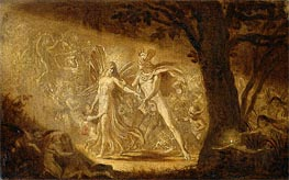 The Quarrel of Oberon and Titania | Joseph Noel Paton | outdated