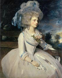 Portrait of Lady Skipwith, 1787 by Reynolds | Painting Reproduction