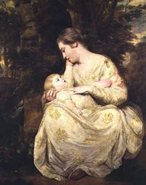 Mrs Susanna Hoare and Child, c.1763/64 by Reynolds | Painting Reproduction