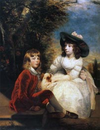 The Angerstein Children, 1783 by Reynolds | Painting Reproduction
