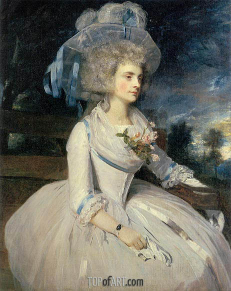 Portrait of Lady Skipwith, 1787 | Reynolds | Painting Reproduction