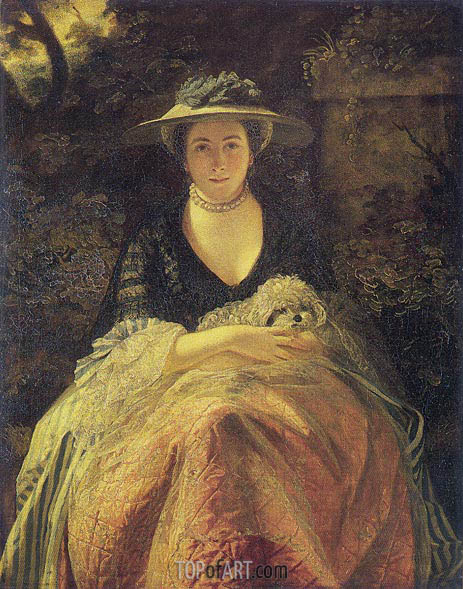 Portrait of Miss Nelly O'Brien, c.1762/64 | Reynolds | Painting Reproduction