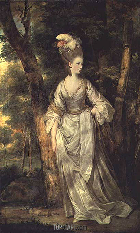 Mrs Elizabeth Carnac, c.1775 | Reynolds | Painting Reproduction