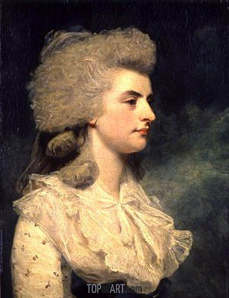 Lady Elizabeth Seymour-Conway, 1781 | Reynolds | Painting Reproduction