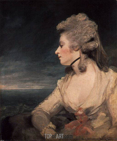Mrs Mary Robinson (Perdita), c.1783/84 | Reynolds | Painting Reproduction
