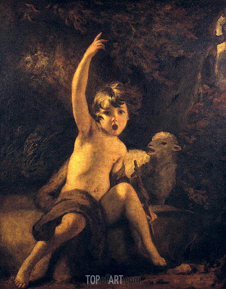 Reynolds | St John the Baptist in the Wilderness, c.1776
