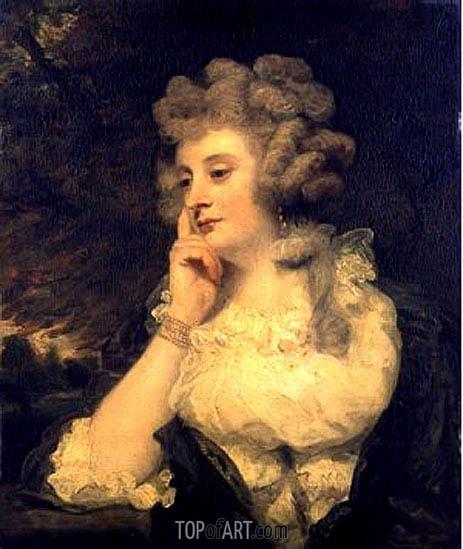 Mrs Jane Braddyll, c.1776 | Reynolds | Painting Reproduction