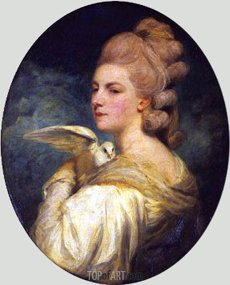 Mrs Mary Nesbitt, 1781 | Reynolds | Painting Reproduction
