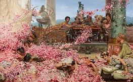 The Roses of Heliogabalus | Alma-Tadema | Painting Reproduction