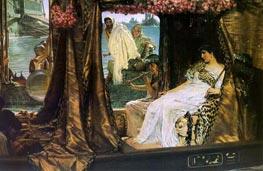 Antony and Cleopatra, 1883 by Alma-Tadema | Painting Reproduction