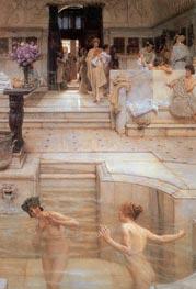 A Favourite Custom | Alma-Tadema | outdated