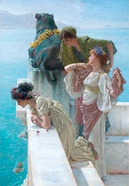 A Coign of Vantage | Alma-Tadema | Painting Reproduction
