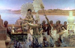 The Finding of Moses | Alma-Tadema | outdated