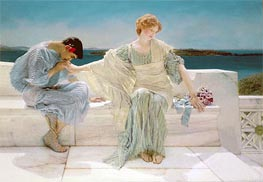 Ask me no More, 1906 von Alma-Tadema | Gemälde-Reproduktion