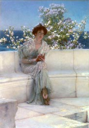 The Year's at the Spring, All's Right with the World, 1902 von Alma-Tadema | Gemälde-Reproduktion