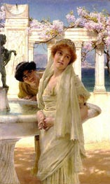 A Difference of Opinion, 1896 by Alma-Tadema | Painting Reproduction