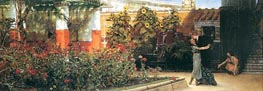 A Hearty Welcome, 1878 by Alma-Tadema | Painting Reproduction