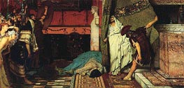 A Roman Emperor AD 41 - Claudius | Alma-Tadema | Painting Reproduction