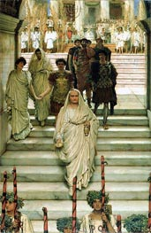 The Triumph of Titus: The Flavians, 1885 by Alma-Tadema | Painting Reproduction