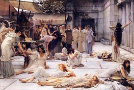 The Women of Amphissa, 1887 by Alma-Tadema | Painting Reproduction