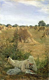 94 Degrees in the Shade, 1876 by Alma-Tadema | Painting Reproduction