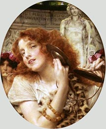 Bacchante, 1907 by Alma-Tadema | Painting Reproduction