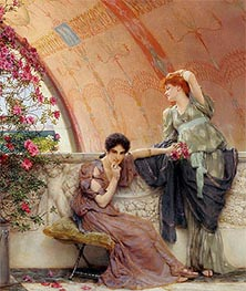 Unconscious Rivals (Detail), 1893 by Alma-Tadema | Painting Reproduction