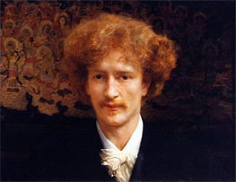 Portrait of Ignacy Jan Paderewski, 1891 by Alma-Tadema | Painting Reproduction