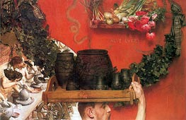 The Roman Potters in Britain, 1884 by Alma-Tadema | Painting Reproduction