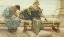 Ask me no More, 1886 by Alma-Tadema | Painting Reproduction