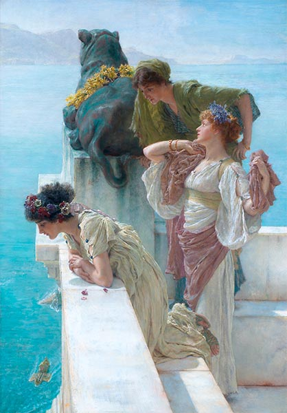 A Coign of Vantage, 1895 | Alma-Tadema| Painting Reproduction