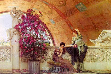Unconscious Rivals, 1893 | Alma-Tadema| Painting Reproduction
