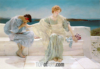 Alma-Tadema | Ask me no More, 1906
