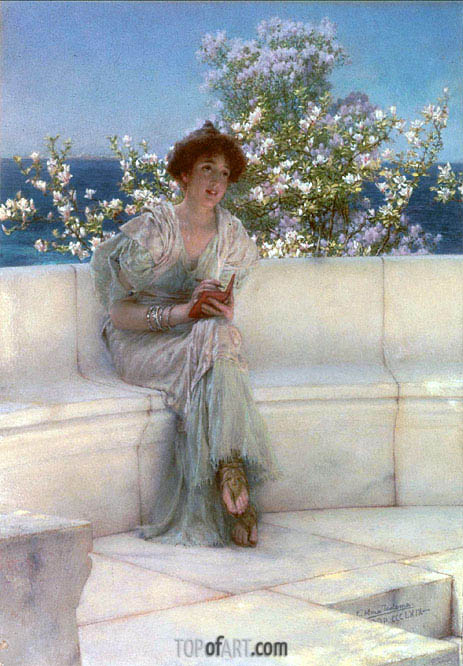 Alma-Tadema | The Year's at the Spring, All's Right with the World, 1902