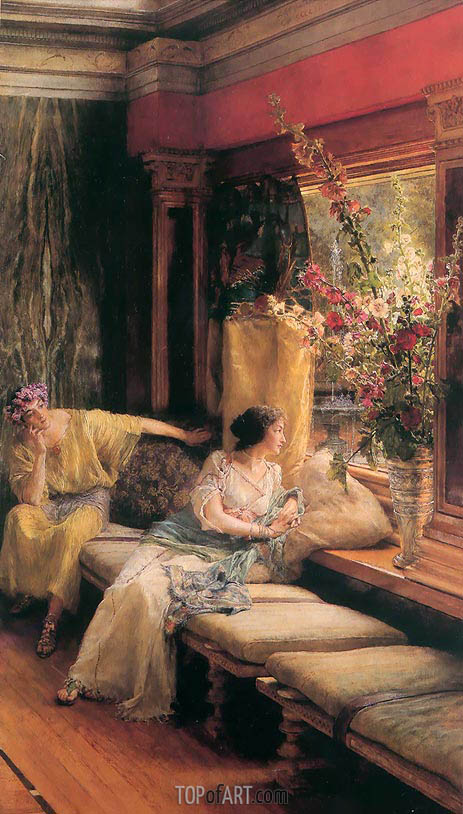Vain Courtship, 1900 | Alma-Tadema | Painting Reproduction