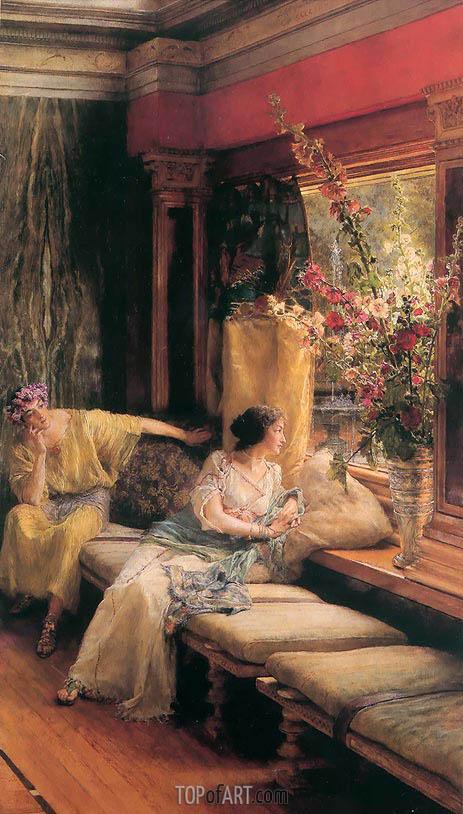 Alma-Tadema | Vain Courtship, 1900