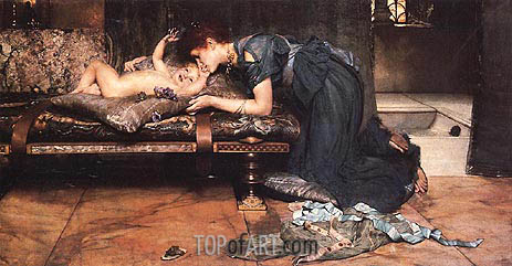 An Earthly Paradise, 1891 | Alma-Tadema | Painting Reproduction