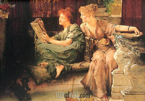 Comparisons, 1892 | Alma-Tadema| Painting Reproduction
