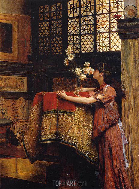 In My Studio, 1893 | Alma-Tadema | Painting Reproduction