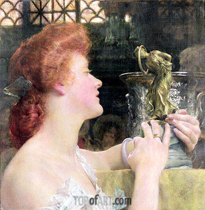 Alma-Tadema | The Golden Hour, 1908
