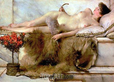 Alma-Tadema | The Tepidarium, 1881