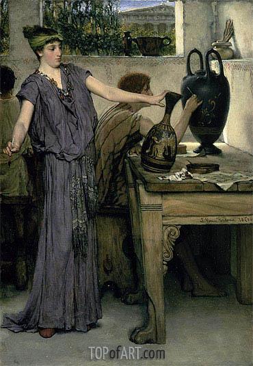 Alma-Tadema | Etruscan Vase Painters, 1871
