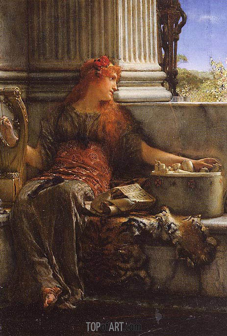 Alma-Tadema | Poetry, 1879