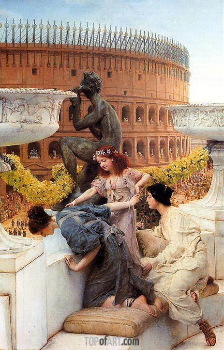 The Colosseum, 1896 | Alma-Tadema | Painting Reproduction