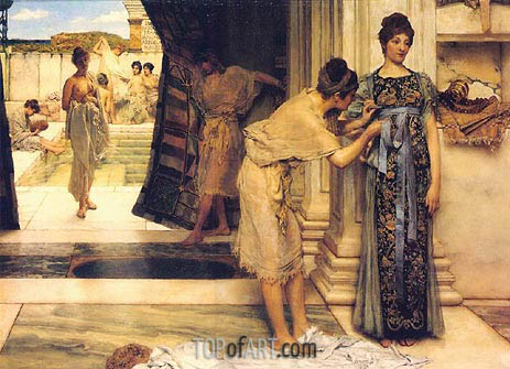 Frigidarium, 1890 | Alma-Tadema | Painting Reproduction