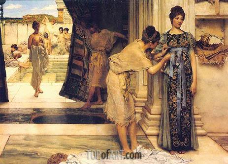 Alma-Tadema | Frigidarium, 1890