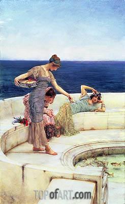 Alma-Tadema | Silver Favorites, c.1903