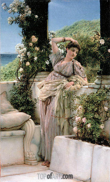 Rose of All Roses, 1885 | Alma-Tadema | Painting Reproduction